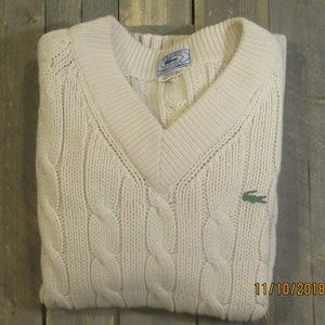 Izod/Lacoste Cable Knit Sweater